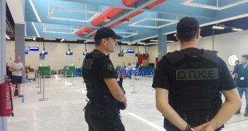 Δώδεκα συλλήψεις αλλοδαπών στο αεροδρόμιο του Ακτίου