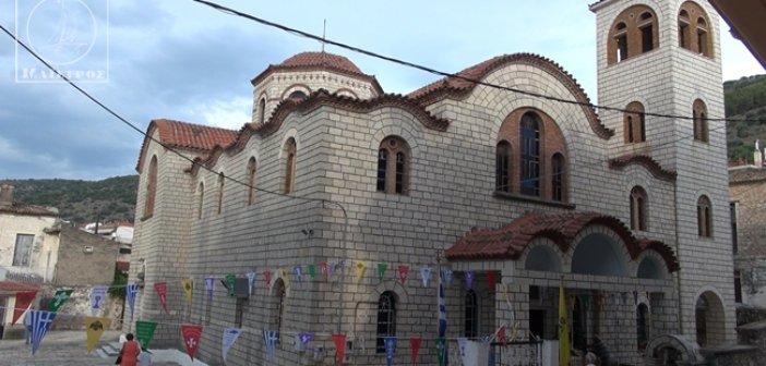 Πανηγυρίζει ο Ιερός Ναός Αγίας Παρασκευής Αμφιλοχίας