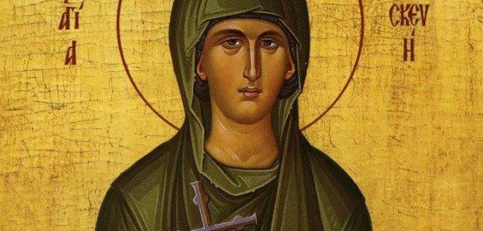 Στις 26 Ιουλίου εορτάζει η Αγία Παρασκευή