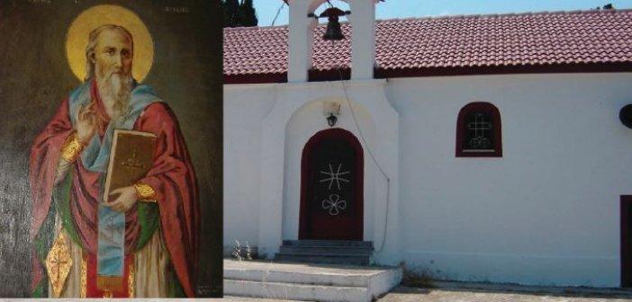 Αφιέρωμα στον Άγιο Βλάσιο τον Ακαρνάνα (ΦΩΤΟ)