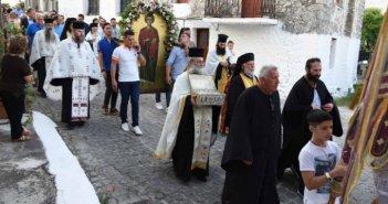 Η εορτή του Αγίου Παντελεήμονος στην Βόνιτσα (ΔΕΙΤΕ ΦΩΤΟ)