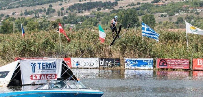 Με κορυφαίους αθλητές τα Πανελλήνια Πρωταθλήματα Θαλασσίου Σκι στη Λίμνη Στράτου