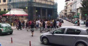 Λαμία: Κρίθηκαν προφυλακιστέοι και… έγινε χαμός έξω από τα δικαστήρια