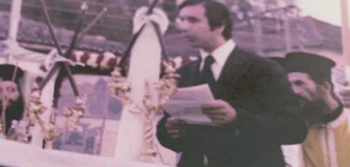 Θέρμο: 21 χρόνια από τον θάνατο του οραματιστή δημάρχου Τάκη Αραπογιάννη