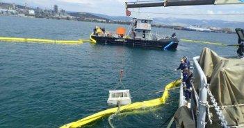 """Πάτρα: """"Γέμισε"""" πετρέλαιο το Νέο Λιμάνι"""