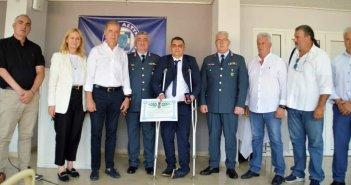 Πάτρα: Το μετάλλιο «Αστυνομικός Σταυρός» στον Ανθυπαστυνόμο Γεώργιο Παπαχριστόπουλο