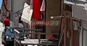 """""""Καμπάνα"""" από το Δικαστήριο στον ιδιώτη που έστησε εξέδρα για υπαίθριο γλέντι στην Κ. Αχαϊα (ΦΩΤΟ)"""