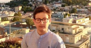 Έλληνας μαθητής κατέκτησε το πρώτο βραβείο σε παγκόσμιο διαγωνισμό ποίησης!