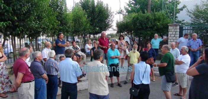 """Ναύπακτος: Στο """"μαρτύριο της σταγόνας"""" υποβάλλονται οι κάτοικοι της Παλαιοπαναγιάς-Να ξεκινήσει άμεσα η δημοπράτηση που θα λύσει το πρόβλημα του νερού (BINTEO + ΦΩΤΟ)"""