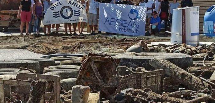 Λευκάδα: Εγκαίνια του πρώτου σταθμού συλλογής θαλασσίων απορριμμάτων στο Ιόνιο (ΔΕΙΤΕ ΦΩΤΟ)