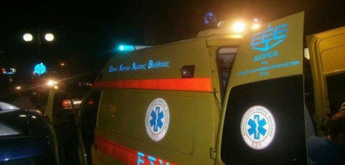Ξηροπήγαδο Ναυπακτίας: Τραυματισμός δικυκλιστή σε σοβαρό τροχαίο