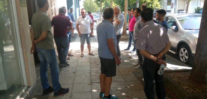 Αγρίνιο: Παράσταση διαμαρτυρίας αγροτοκτηνοτρόφων στα γραφεία του ΕΛΓΑ (ΦΩΤΟ + VIDEO)