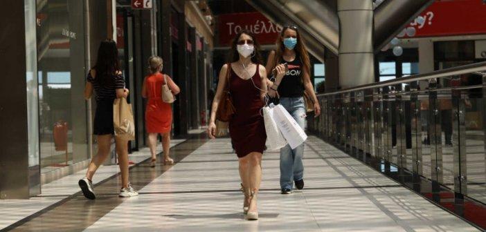 Επτά πρόστιμα για μη χρήση μάσκας στο Αγρίνιο και δύο στο αεροδρόμιο του Ακτίου