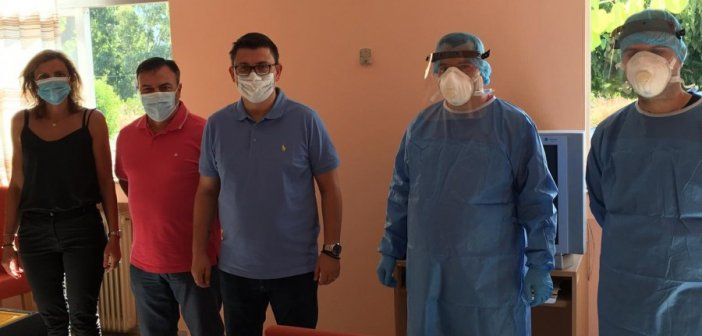 Κλιμάκιο του ΕΟΔΥ στο Κέντρο Υγείας Αστακού