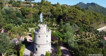 Ο Λευκός Πύργος της Ναυπακτίας με μπουκάλια είναι στην Γαβρολίμνη (VIDEO)