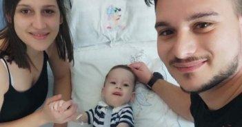 Τα κατάφερε ο μικρός Ηλίας – Στυλιανός από τον Αστακό – Έλαβε γονιδιακή θεραπεία! (ΔΕΙΤΕ ΦΩΤΟ)