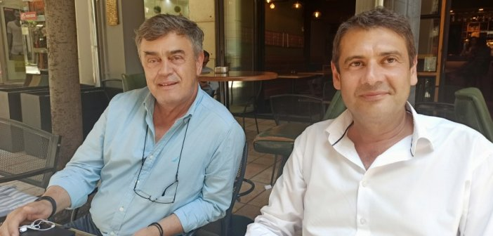 Κατσούλας και Αποστολάκης  στο Αγρίνιο για το ΦΟΔΣΑ