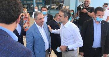 Παρών στην επίσκεψη Μητσοτάκη στην Κέρκυρα ο Διοικητής της 6ης ΥΠΕ – Επαφές Γιάννη Καρβέλη και με Κικίλια (ΔΕΙΤΕ ΦΩΤΟ)