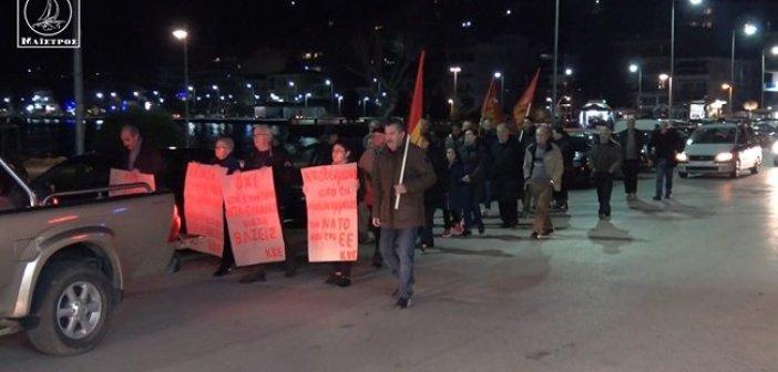 Πικετοφορία στην Αμφιλοχία για το νομοσχέδιο που αφορά τις διαδηλώσεις