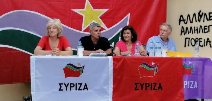 Σε πολιτική εκδήλωση του ΣΥΡΙΖΑ στην Πάτρα ο Χρήστος Κοκκινοβασίλης (ΔΕΙΤΕ ΦΩΤΟ)