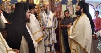 Σκλάβαινα Παλαίρου: Η Εορτή του Αγίου Βλασίου του Ακαρνάνος στον τόπο του μαρτυρίου του (ΔΕΙΤΕ ΦΩΤΟ)