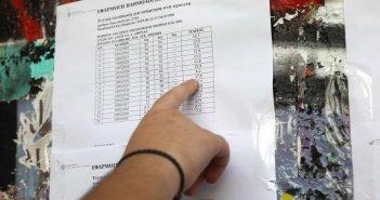 Τα συγχαρητήρια του ΓΕΛ Παραβόλας για τους συμμετέχοντες στις Πανελλαδικές