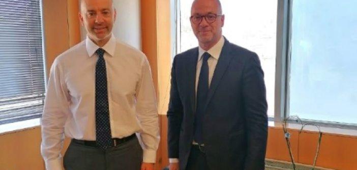 Συνάντηση του Προέδρου του Περιφερειακού Συμβουλίου Δυτικής Ελλάδας με τον Υφυπουργό Ψηφιακής Διακυβέρνησης