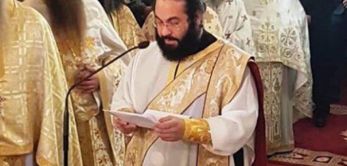 Προϊστάμενος του Ι.Ν. Αγίου Αθανασίου Κατούνας και αρχιερατικός επίτροπος ο Αρχιμανδρίτης Χρυσόστομος Σπ. Κελεπούρης