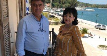 Επίσκεψη Αντιπεριφερειάρχη Π.Ε Αιτωλοακαρνανίας Μαρίας Σαλμά στο Δήμαρχο Ακτίου – Βόνιτσας (ΦΩΤΟ)