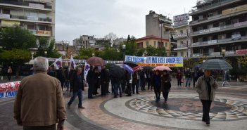 Αγρίνιο: Νέο συλλαλητήριο ενάντια στο νομοσχέδιο για τις διαδηλώσεις