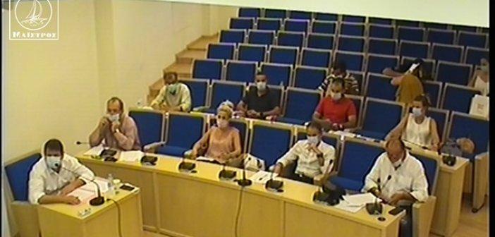 Πρωτόγνωρες εικόνες στο Δημοτικό Συμβούλιο Αμφιλοχίας – Όλοι με μάσκα! (ΦΩΤΟ + VIDEO)