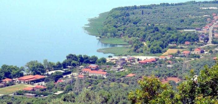 Εικόνες από την λίμνη Τριχωνίδα