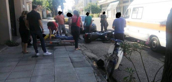 Αγρίνιο: Ένα τραυματίας σε τροχαίο κοντά στο Πολυκλαδικό (ΔΕΙΤΕ ΦΩΤΟ)