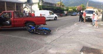 Καινούργιο: Δύο ελαφρά τραυματίες μετά από σύγκρουση αγροτικού με μηχανάκι (ΔΕΙΤΕ ΦΩΤΟ)