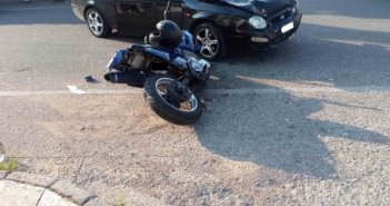 Νέο τροχαίο στο Αγρίνιο – Τραυματίστηκε μοτοσικλετιστής στην Εθνικής Αντιστάσεως (ΔΕΙΤΕ ΦΩΤΟ)