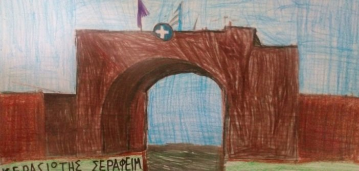 Τα έργα ζωγραφικής του επτάχρονου Μεσολογγίτη μαθητή του 4ου Δημοτικού σχολείου Μεσολογγίου
