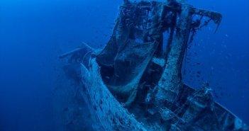 Ιόνιο: Εντυπωσιακές εικόνες από υποβρύχιες επισκέψεις στο ναυάγιο του «Περσέα»