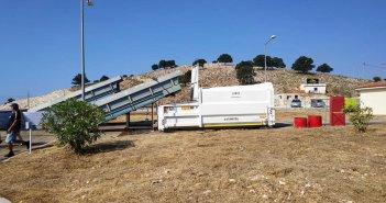 Εγκαινιάστηκε ο Σ.Μ.Α. (Σταθμός Μεταφόρτωσης Απορριμμάτων) Αστακού