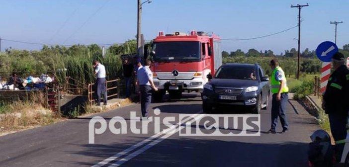 Δυτική Ελλάδα: Πτώμα άνδρα εντοπίστηκε μέσα σε κανάλι (ΦΩΤΟ)