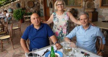 Σε χωριά της ορεινής Ναυπακτίας ο δήμαρχος Βασίλης Γκίζας