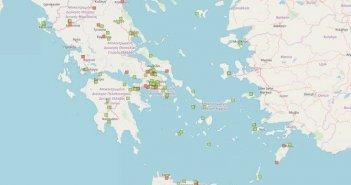 Δυτική Ελλάδα: Τα σημεία που υπάρχουν αποθήκες με νιτρικό αμμώνιο – ΔΕΙΤΕ ΧΑΡΤΕΣ