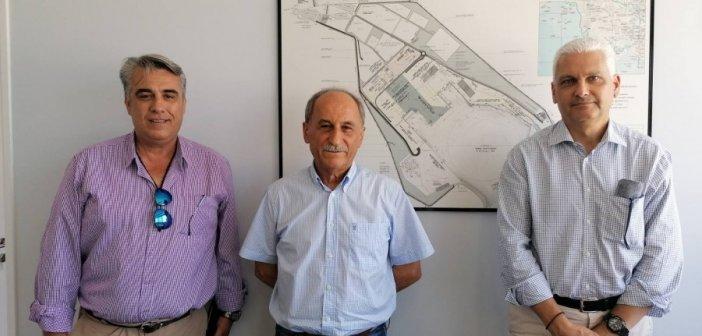 Επίσκεψη του Αντιπεριφερειάρχη Φ. Ζαΐμη στο Λιμάνι Αστακού