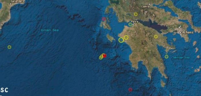 """Ιόνιο: """"Ταρακουνήθηκε"""" η Ζάκυνθος τα ξημερώματα από διπλό σεισμό"""