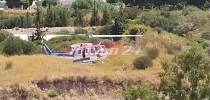 """Δυτική Ελλάδα: """"Αερογέφυρα"""" σωτηρίας για 72χρονο με έμφραγμα από την Κεφαλονιά στο ΠΠΝΠ – Υποβλήθηκε σε αγγειοπλαστική (ΦΩΤΟ)"""