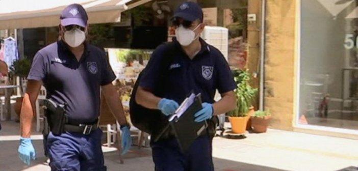 28 πρόστιμα στη Δυτική Ελλάδα το Σάββατο για μη χρήση μάσκας