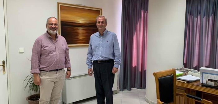Δήμος Θέρμου: Συνάντηση Σπύρου Κωνσταντάρα με τον καθηγητή πυρηνικής φυσικής στο Πανεπιστήμιο Kent State της Πολιτείας του Οχάιο