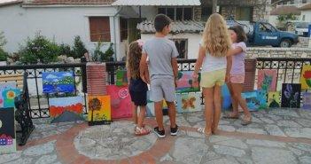 Τα παιδιά ζωγραφίζουν και εκθέτουν τα έργα τους στην Κανδήλα (ΔΕΙΤΕ ΦΩΤΟ)