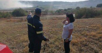 Υπό έλεγχο η φωτιά στην Αστροβίτσα Αιτωλικού – Η ενημέρωση της Περιφέρειας (ΦΩΤΟ)
