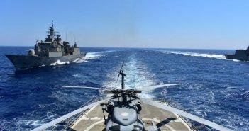 Γαλλία σε Τουρκία: Κοντά τα χέρια σας στην Μεσόγειο