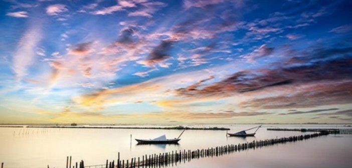 Η ονειρική λιμνοθάλασσα του Μεσολογγίου